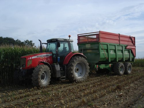MF 7485 + coutand 16T