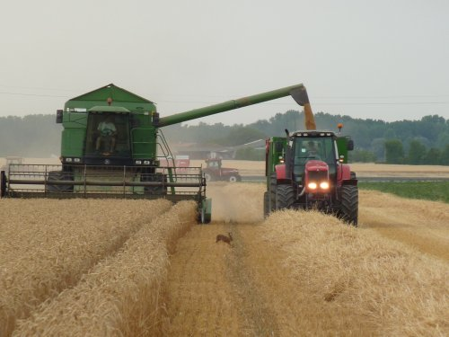 JD 2266 + MF 7485 et coutand 16T