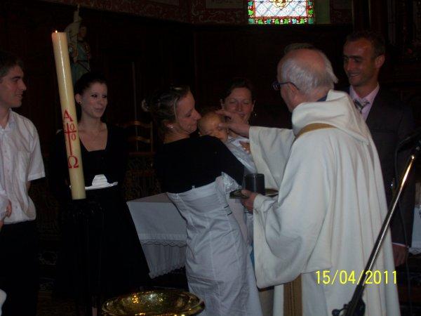 BAPTEME DE MES 3 PETITES FILLES