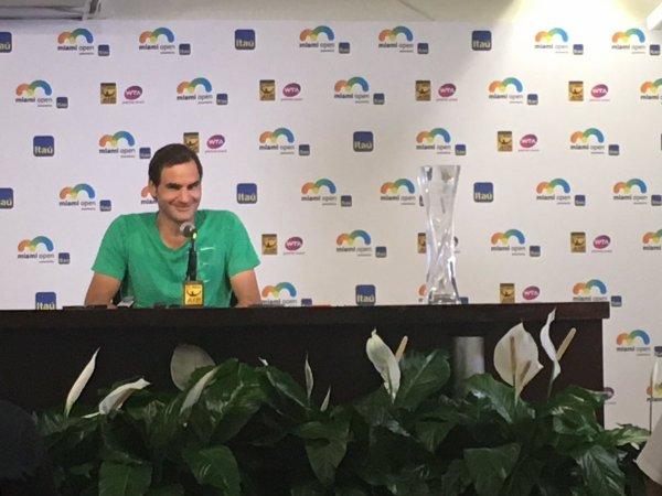 Roger Federer: «Je n'en reviens pas!»