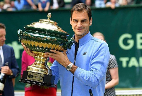 Federer n'imaginait pas ça...