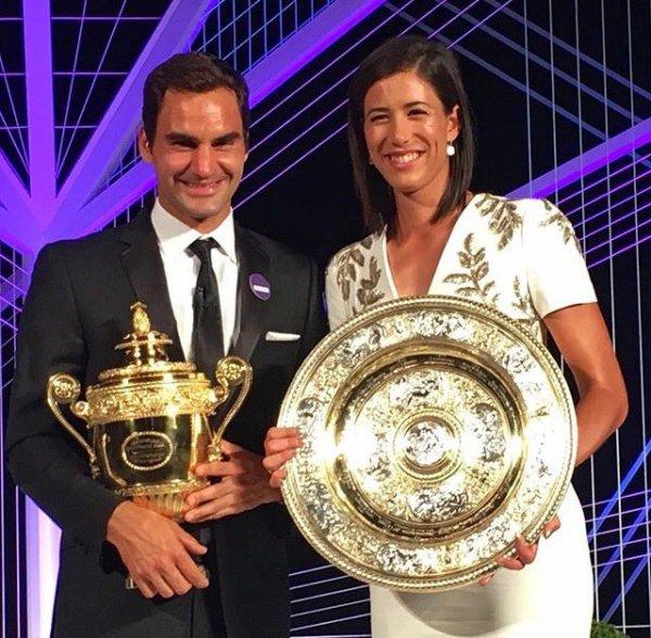 La nuit des vainqueurs de Wimbledon