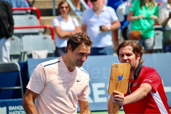 """ATP - Montréal - Federer : """"Cinq gros gâteaux d'anniversaire"""""""