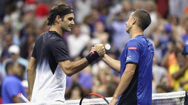Federer ne s'est pas attardé