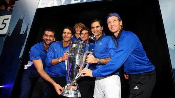 L'Europe remporte la première Laver Cup et peut remercier Roger Federer