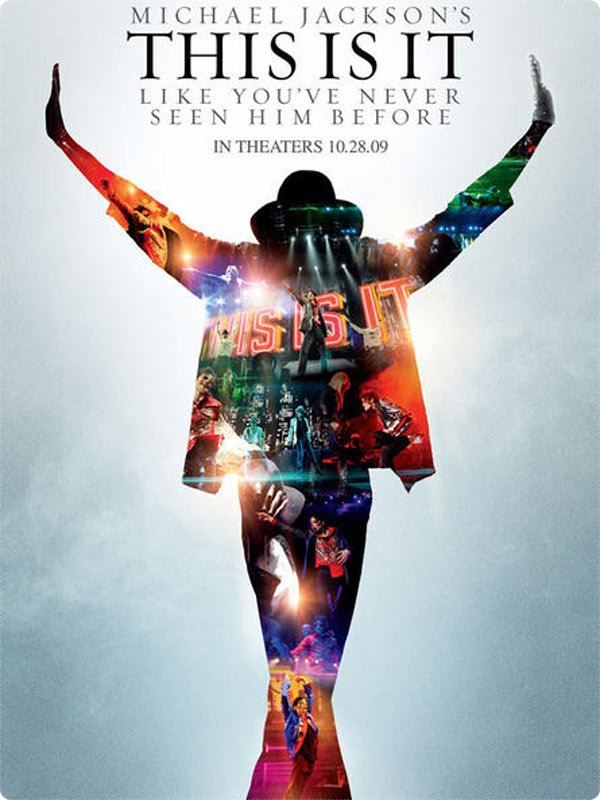 "Affiche Officiel Du Film "" This Is It """