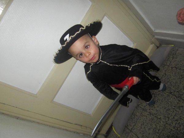 costume pour le carnaval de mes deux enfant