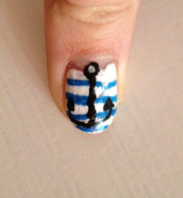 "Nail Art  ""Marin"""