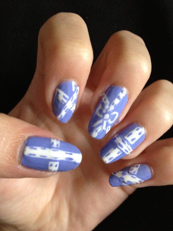 "Nail Art  ""Ruban"""