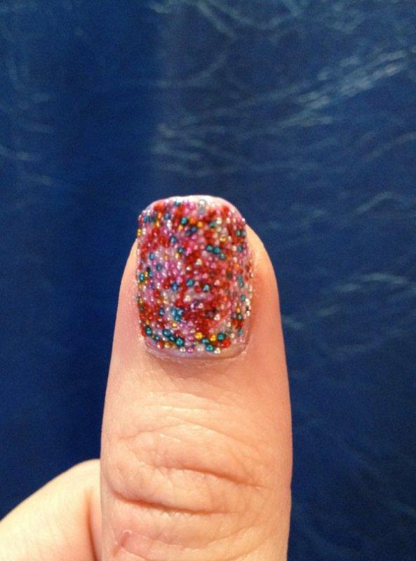 "Nail Art  ""Caviar Manucure"""