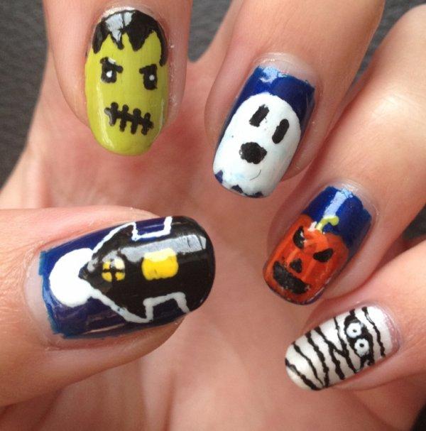 """Nail Art  """"Halloween 2013"""""""
