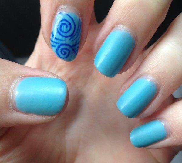 Nail Art à l'effaceur