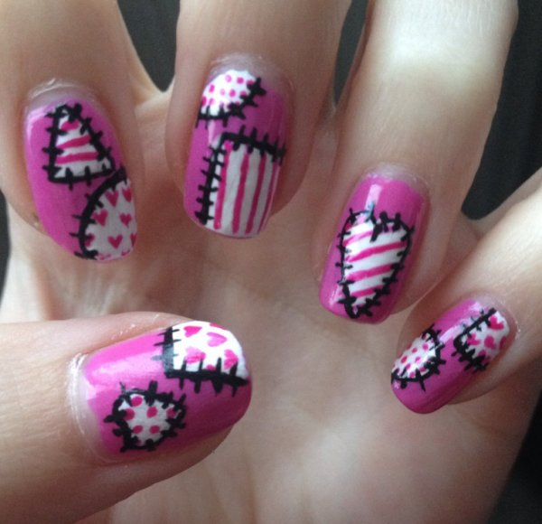 "Nail art  ""Couture"""