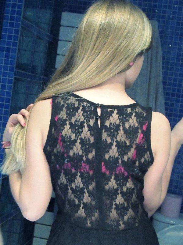 Les dos de ma robe ;)