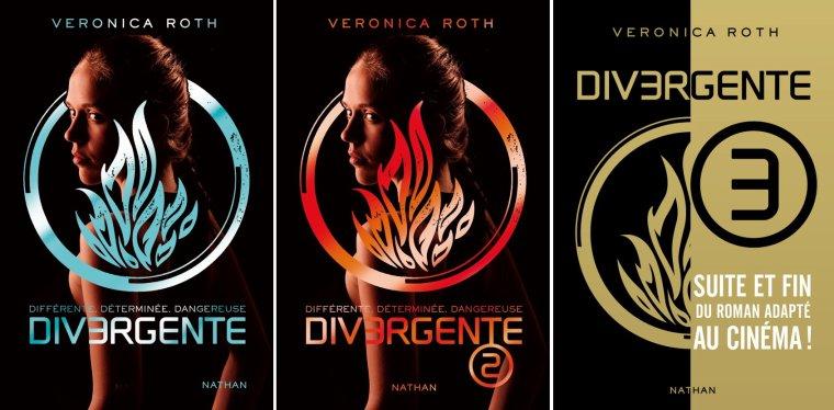 Divergente, la série, Veronica Roth