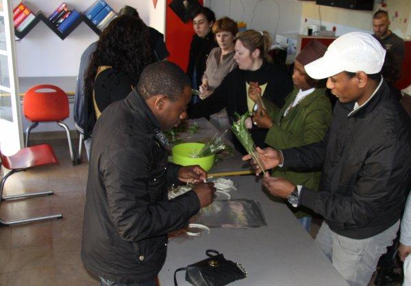 Jikke Ndemande tiendra un stand  le 9 juin à Villeneuve le Roi à la fête de Paul Bert !