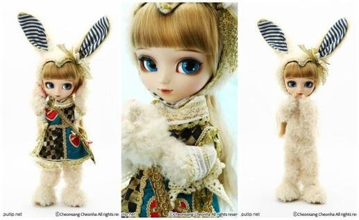Pullip classical white rabbit