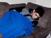 Zayn , t'es choux quand tu dors ♥ .