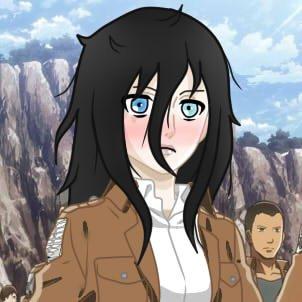 moi  dans se monde de titan chapitre 2 : bataillon des exploration me voilà !!! enfin pas maintenent