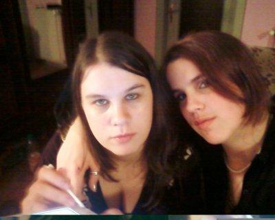 moi et ma tite soeur de sang