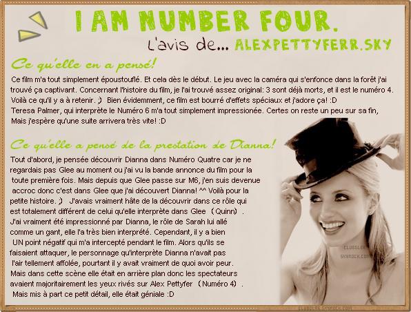 Je Suis Numéro Quatre.