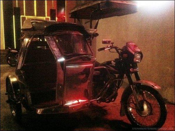 . 01/2012: Stéphane, blessé dans un accident de la circulation aux Philippines. (Article de Voici.fr).