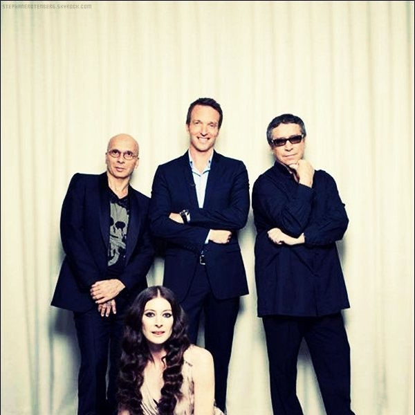 . 2011: Photoshoot pour la 1ère saison de l'émission La meilleure danse..