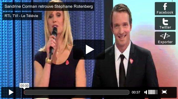 . 21/04/2012: A la grande soirée du Télévie , diffusée sur RTL-TVI en Belgique..