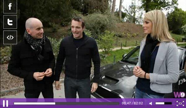 . 12/05/2012: Marine de La belle et ses princes presque charmants dans Fast club..