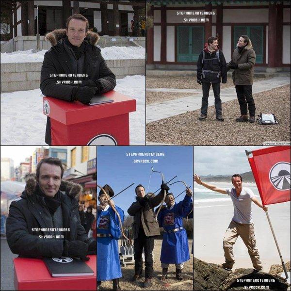 . 01/2012: Photoshoot pour Pékin Express: Le passager mystère..
