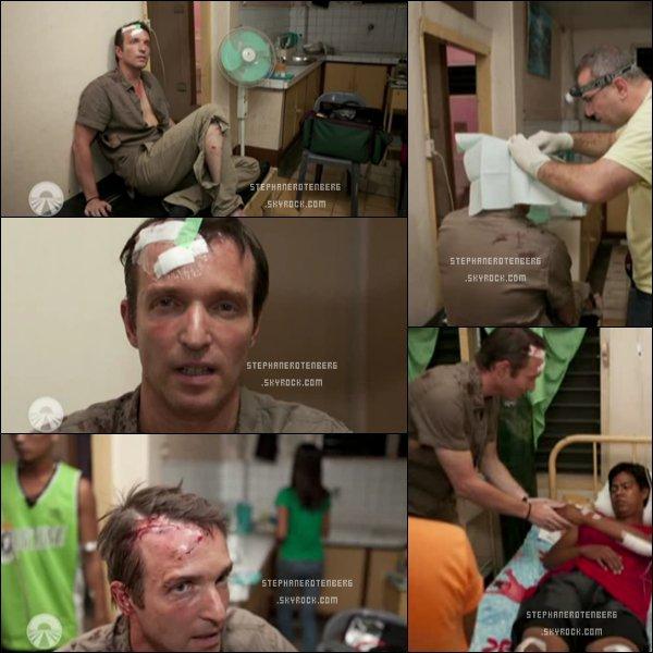 . 16/05/2012: L'accident de Stéphane dans le 4ème épisode de Pékin Express: Le passager mystère..