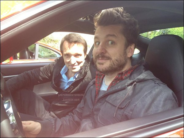 . 19/05/2012: Stéphane a invité l'animateur de Fun Radio Bruno Guillon dans son émission Fast Club..
