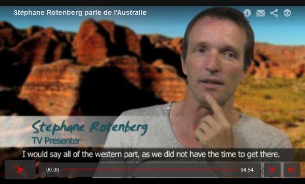 . Début 2012: Interview de Stéphane sur l'Australie..