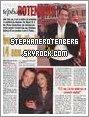 """. 2005: (Très) Petit scan du journal Ici Paris. La seule chose que j'ai réussi à lire est """"Avec Nathalie, ça fait 14 ans que ça dure"""". Malheureusement, je n'ai pas trouvé de scan plus grand.."""