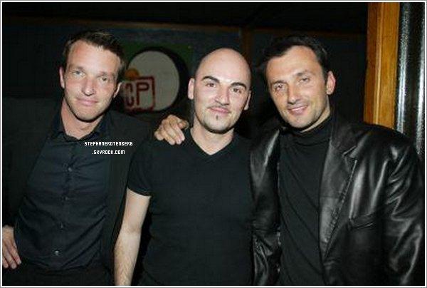 . 04/04/2002: Match TV (à droite: Frédéric Lopez , au milieu: Fabrice Cagnin).