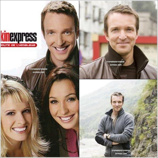 . 2007: Photoshoot de la 2ème saison de Pékin Express (PE: La route de l'Himalaya)..
