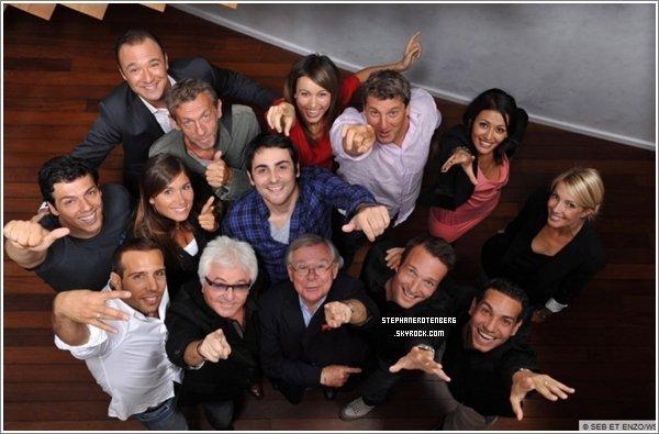 . 2009: Photoshoot de la rentrée des animateurs de W9..