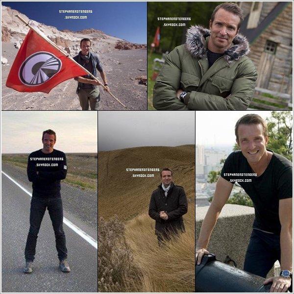 . 2010: Photoshoot + stills promotionnels de la 5ème saison de Pékin Express (PE: La route du bout du monde) par Patrick Robert..