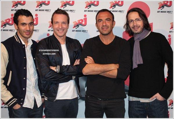 . 13/04/2010: Chez Virgin Radio et NRJ..