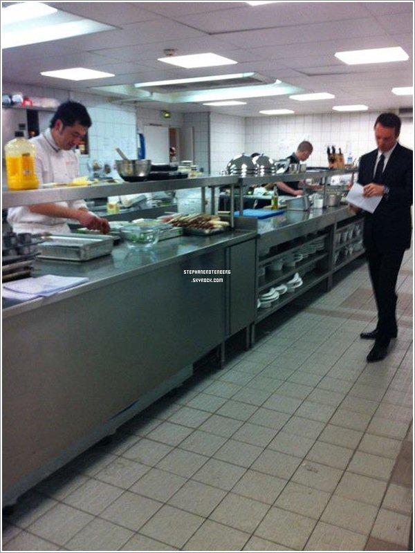 . 04/04/2011: Préparations de la finale de Top Chef 2011..