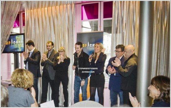 . 01/2011: Conférence de presse de la 2ème saison de Top Chef au Café Fauchon..
