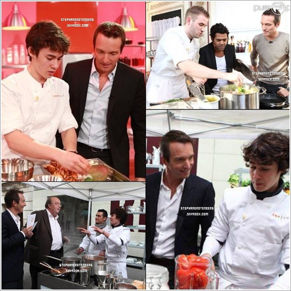 . 01/2012: Stills promotionnels + photoshoot de la 3ème saison de Top Chef..
