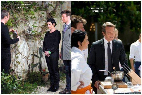 . 2011: Shoots + stills promotionnels d'Un dîner presque parfait: La meilleure équipe de France..