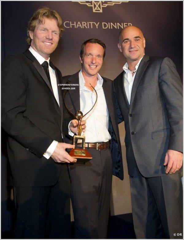 . 04/06/2011: A un gala organisé par la marque Longine..