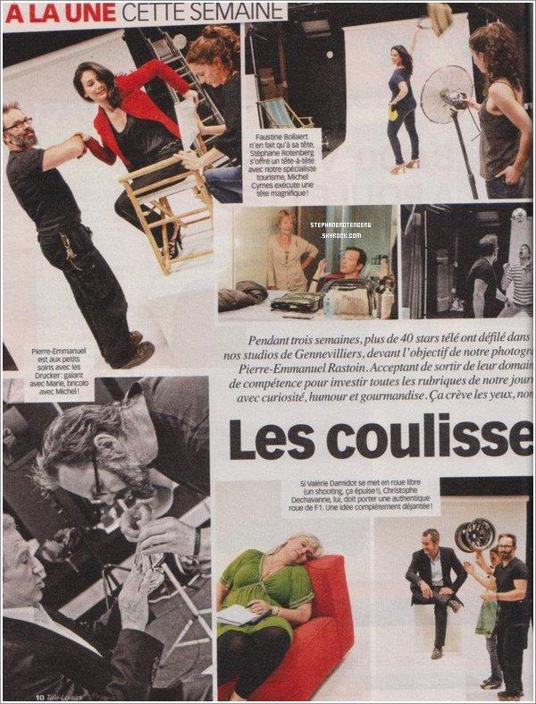 . 05/2011: Coulisses du photoshoot pour les 25 ans de Télé-Loisirs + les scans du magazine + la séance photo en vidéo + la soirée des 25 ans de Télé-Loisirs..