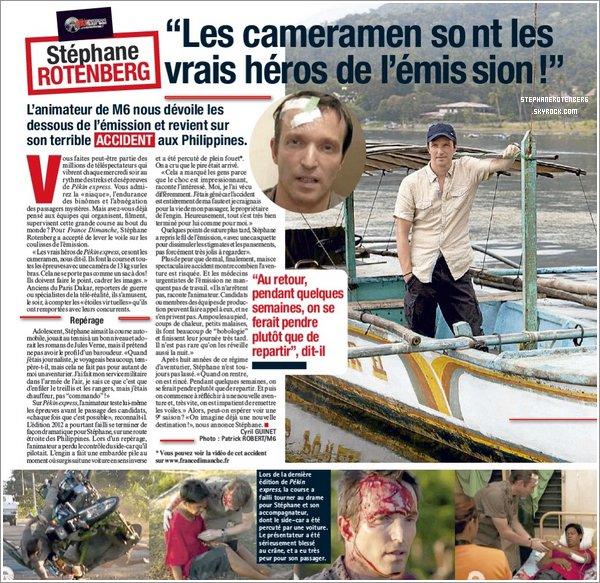 . 15/06/2012: Scan du journal France Dimanche. Cliquez ici pour le voir en plus grand..