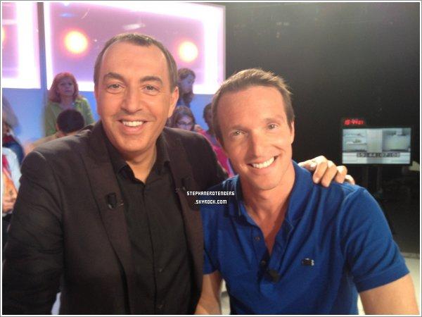 . 27/06/2012: Stéphane était invité dans l'émission de Jean-Marc Morandini sur Direct 8. (Photos provenant des comptes Twitter de Jean-Marc Morandini et Cécile de Ménibus).