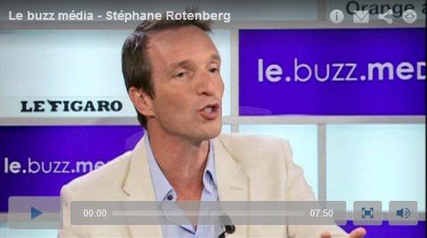 . 10/07/2012: Stéphane est l'invité du Buzz Média Orange-Le figaro..