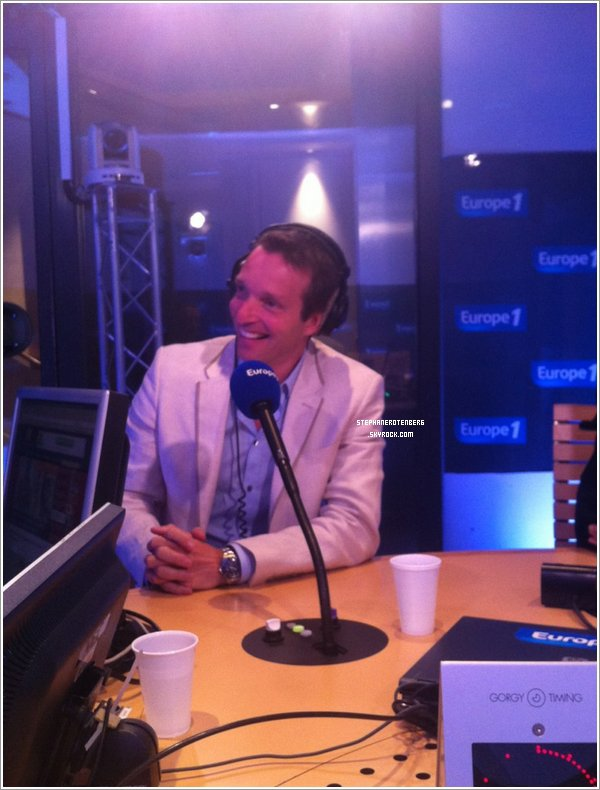 . 11/07/2012: Stéphane était dans Le grand direct des médias sur Europe 1..