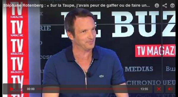 . Une nouvelle interview de Stéphane a été postée hier sur LeFigaro.fr. + Un shoot pour sa nouvelle émission Qui est la taupe ? qui passe actuellement sur M6. .